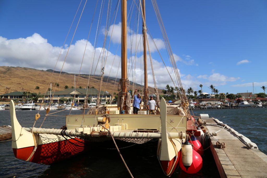 Mo'okiha o Pi'ilani Voyaging Canoe