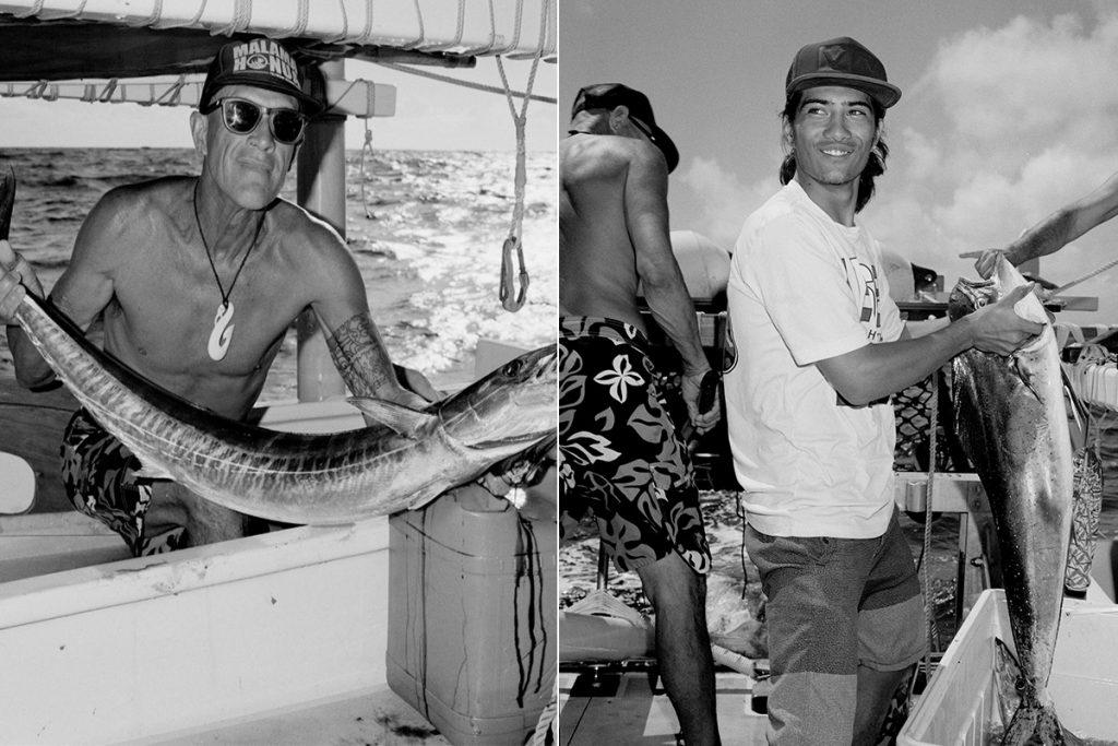 Mo'okiha O Pi'ilani - Crew Fishing