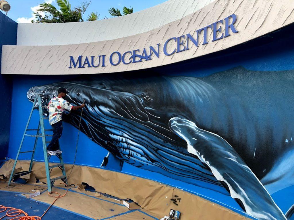 Whale Mural Hilton Alves