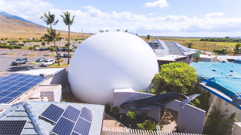 Humpbacks of Hawaii Exhibit & Sphere